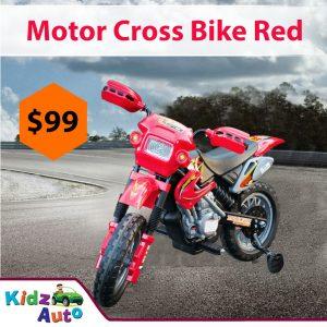 Motor Bike - Red