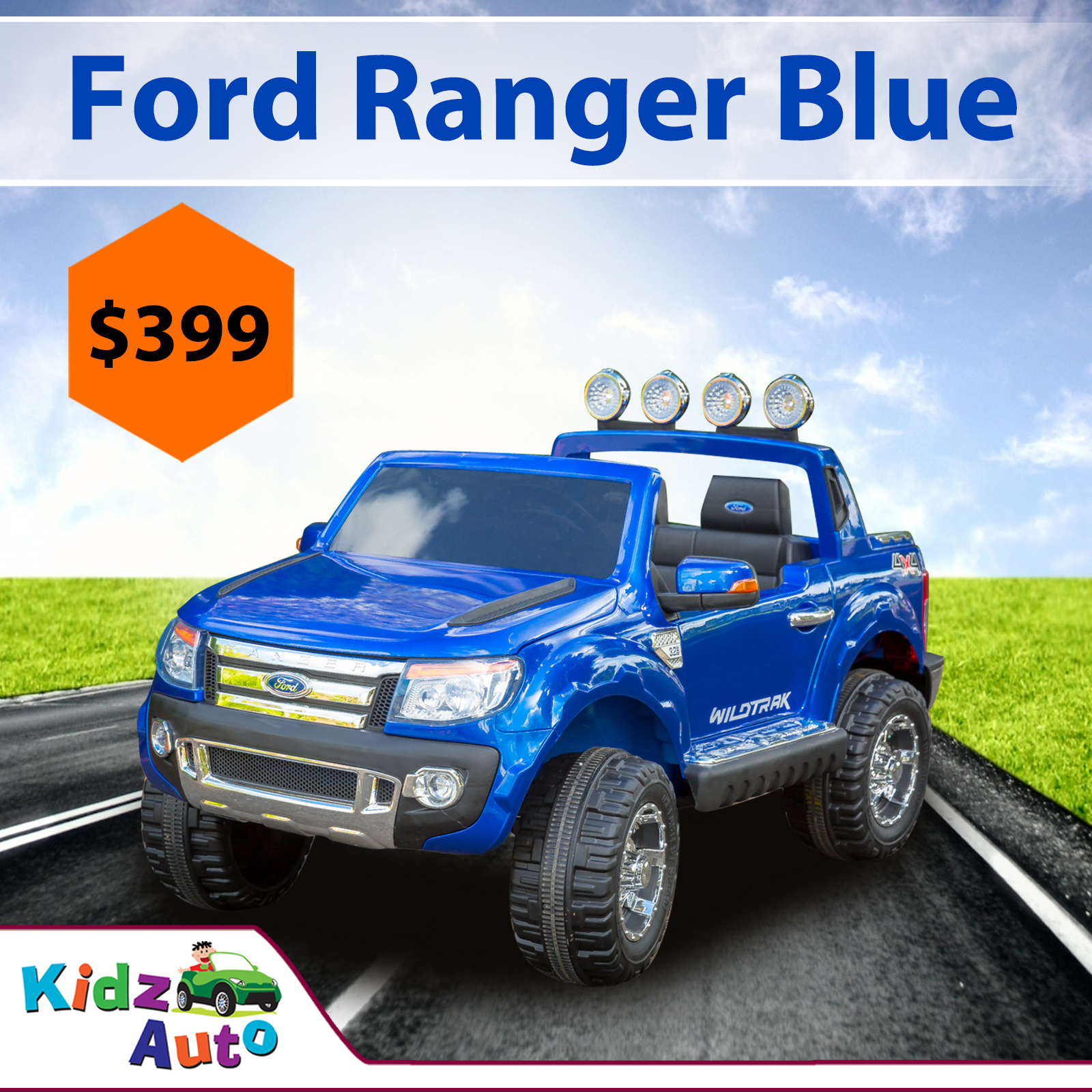 Licensed-Ford-Ranger-Blue-Ride-on-Car-Feature-Image