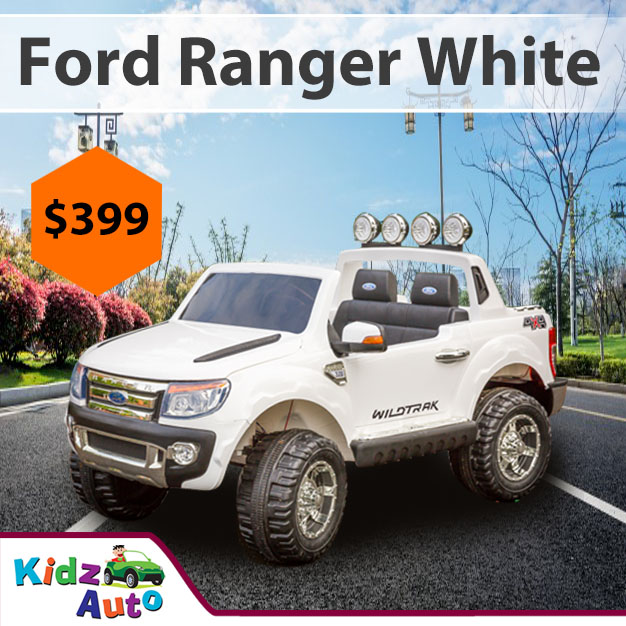 Licensed-Ford-Ranger-White-Ride-on-Car-Featured-Image