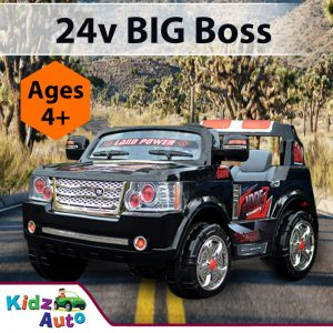 Kidz Auto 24v BIG Boss Ride on Car - Feature Image