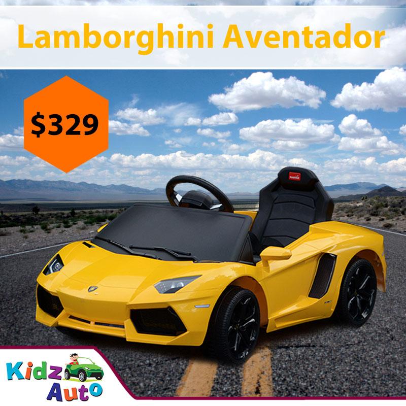 Lamborghini-Aventador-Yellow-Ride-on-Car-Featured-Image