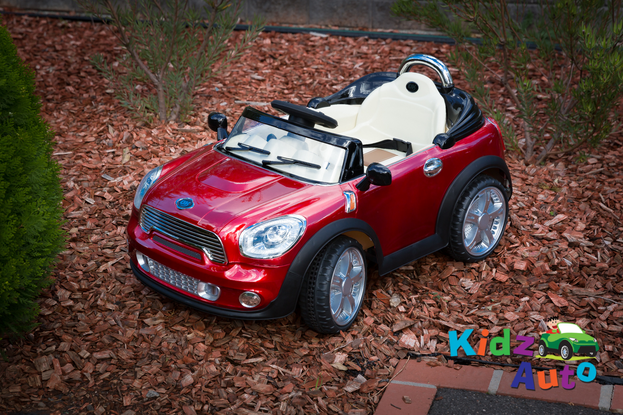 Sports Mini Red Electric Ride On Toy Cars For Kids Australia