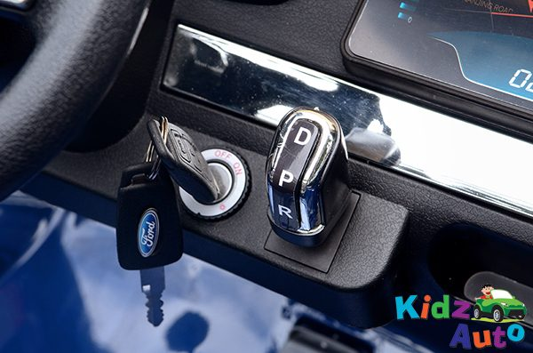 34 KA422 - 2017 Blue Ford - Dashboard - Key Start