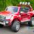 Licensed-Ford-Ranger-Red-Ride-on-Car-Front-Side