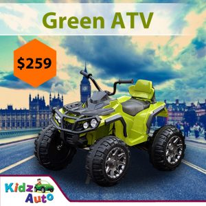 ATV-Green-Ride-on-Bike-Front-Feature-Image