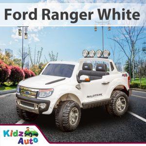 24v 2017 Ford Ranger - White