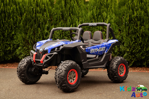 24V Beach Buggy – Blue – Side Front