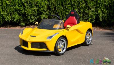Licensed Le Ferrari - Yellow - Profile Pic