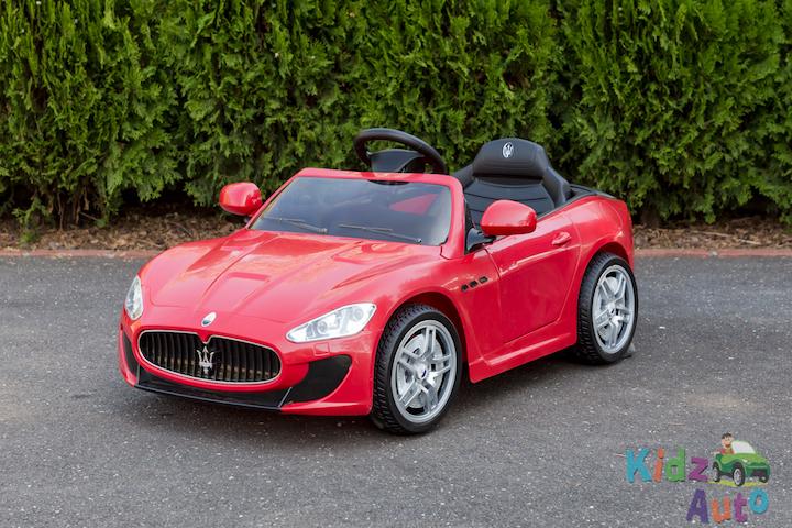 Licensed Maserati GranTurismo MC – Red – Profile Pic