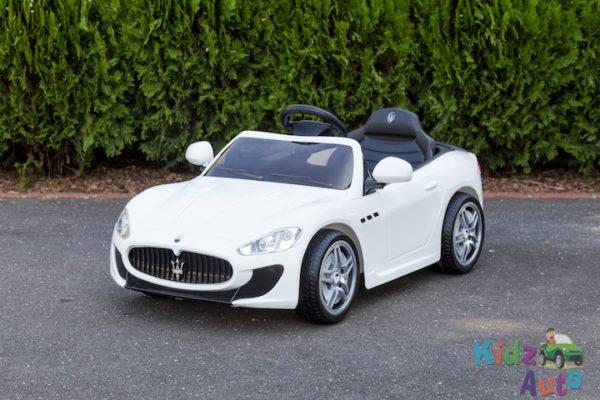 Licensed Maserati GranTurismo MC - White - Profile