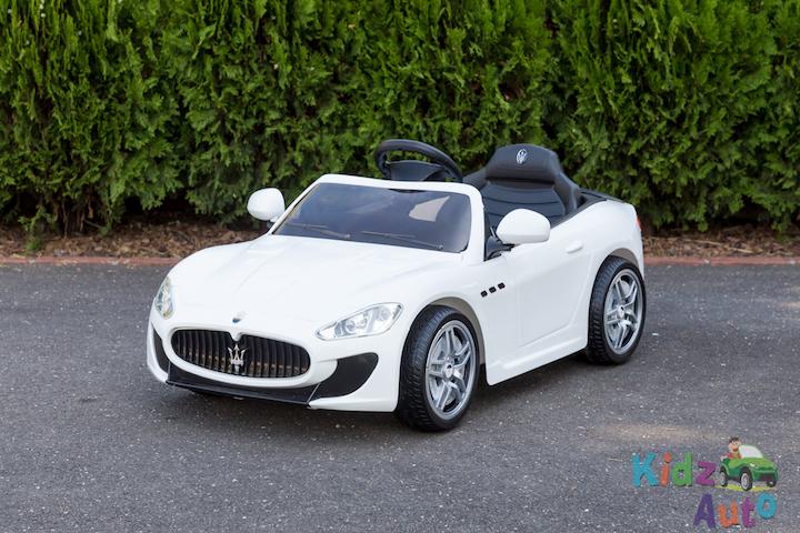 Licensed Maserati GranTurismo MC – White – Profile