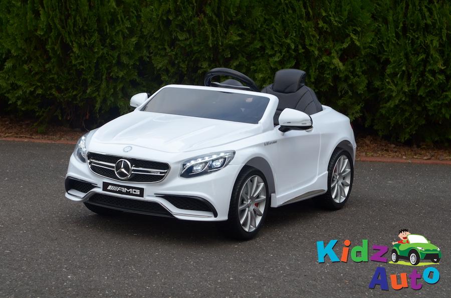 KA319 – Licensed Mercedes S63 AMG – White – Profile