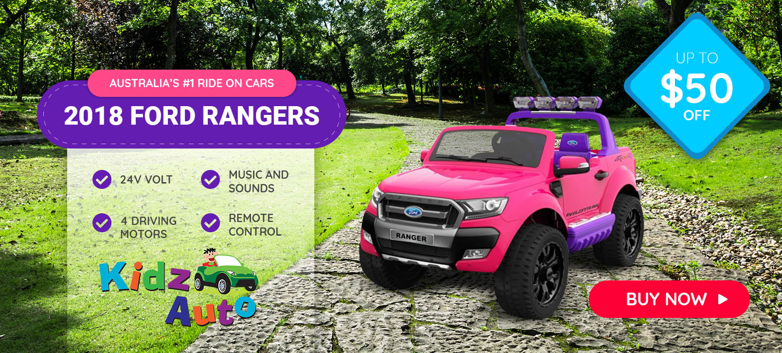 2018 Licensed Ford Rangers Ride on Cars