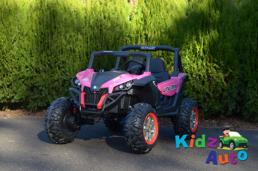 KA444 – 24V Beach Buggy – Pink – Profile