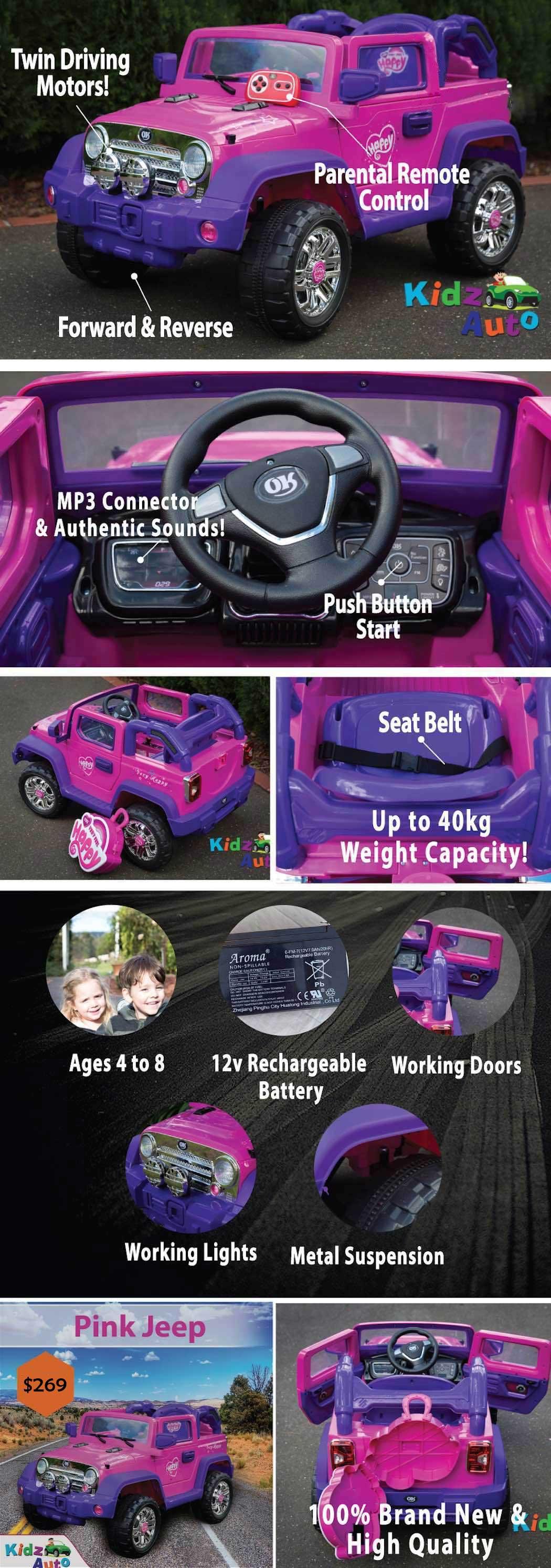 Kidz Auto Ride on Cars